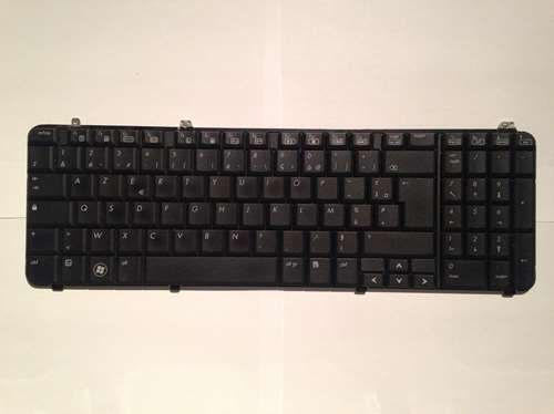 clavier azerty aeut3f00140 pour pc portable hp pavilion. Black Bedroom Furniture Sets. Home Design Ideas